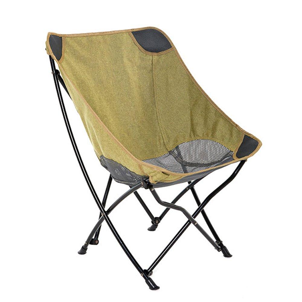 QFFL 屋外シンプルな補強折りたたみチェア/軽量ポータブル釣りチェア/ビーチ実用的キャンプムーンチェア/快適レジャー背もたれ椅子 アウトドアスツール (色 : D) B07F7ZLWPF D D