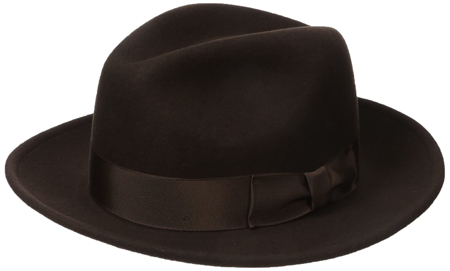 Country Gentleman Men's Frederick Wide Brim Fedora Hat CG182