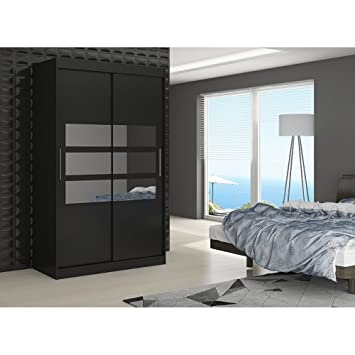 Justyou Toledo Armoire Penderie GardeRobe Portes Coulissantes