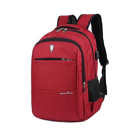 Myconvoy USB Mochila para Ordenador Portátil,Backpack Impermeable para Ordenador del Negocio Ocio/Colegio