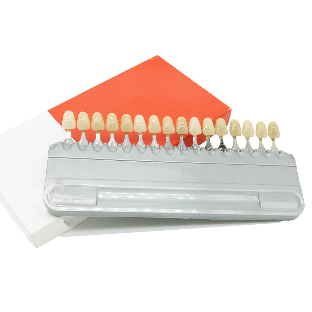 Shade Guide Porcelain Dental Dentist Materials 16