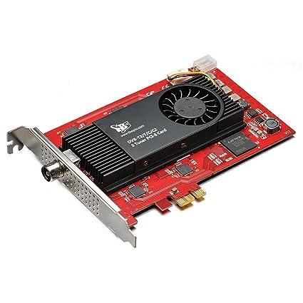 Amazon.com: TBS DVB-T2/C2/T/C/ISDB-T Octa PCIe tarjeta ...