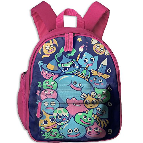 A&L Slime Party Boys Girls Neutral Oxford School Backpack Pink by A&L