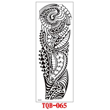 9 piezas tatuaje apliques brazo medio brazo cabeza de carpa ...