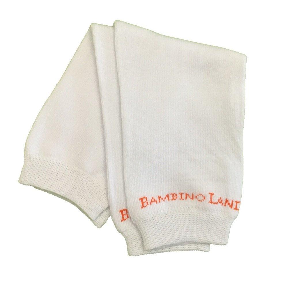 Bambino Land Leg Warmers Solid White