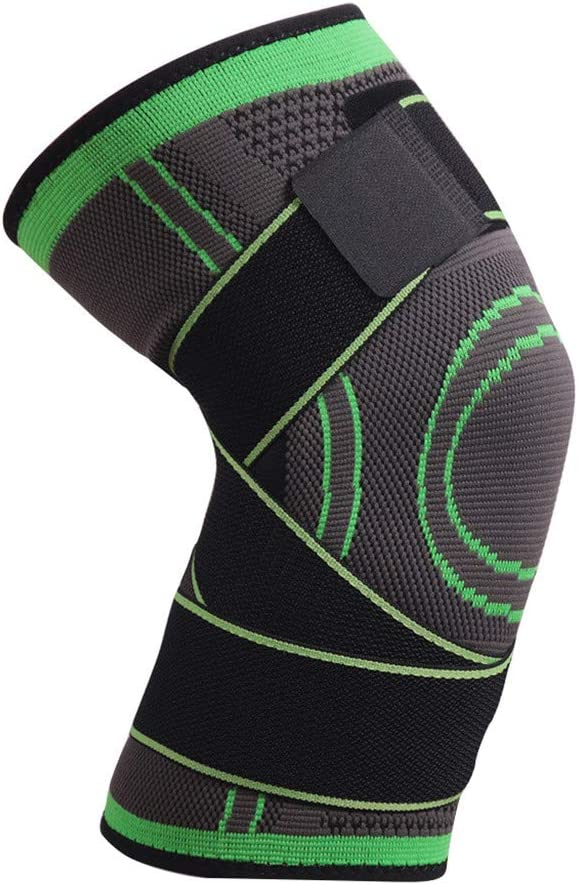 Compression Fit Support for Joint Pain and Arthritis Relief Improved Circulation Compression Wear Breathable Running Support Pad Fine 3D Weaving Knee Brace for Men Women