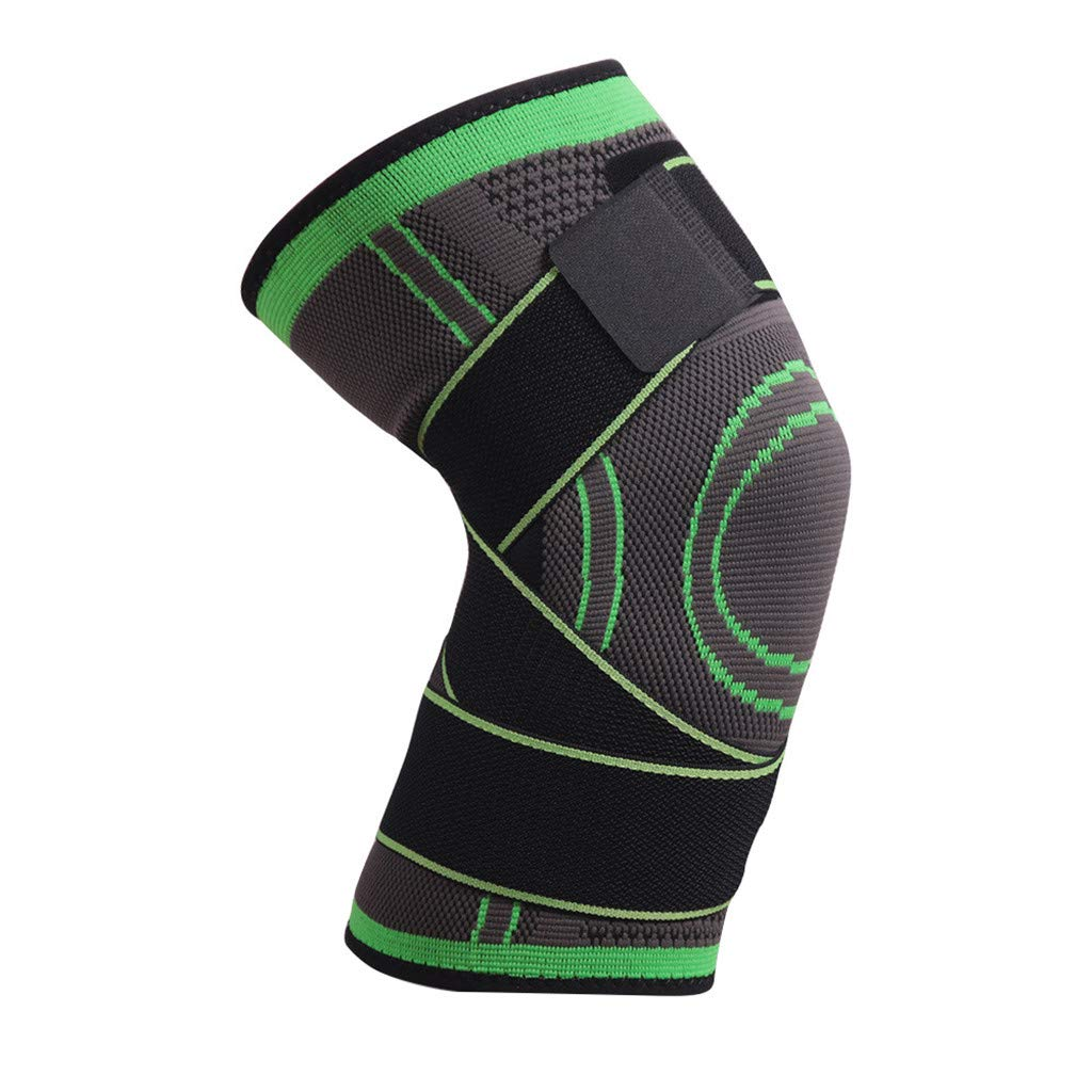 FIged SKDK 3D Weaving Knee Brace Pad Support Protect Compression Breathable