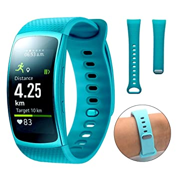Dokpav® Samsung Gear Fit 2 Banda de Reemplazo Pulsera Ajustable ...