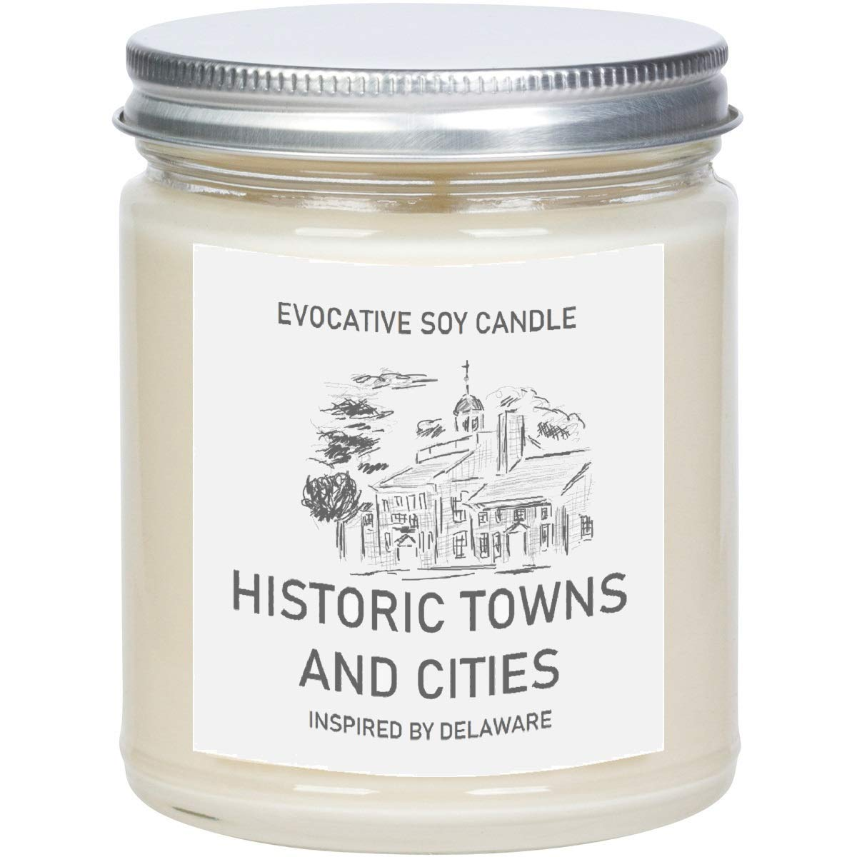 Amazon Com Delaware Scented Candle Evocative Candle Homesick Gift Feeling Homesick State Scented Candle Moving Gift College Student Gift Handmade
