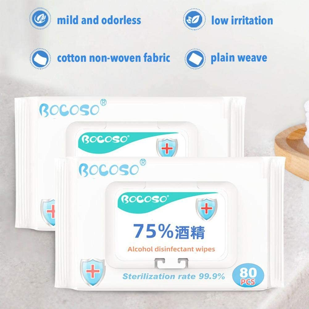 learnarmy Baby Wipes Multipack 80PCS Disposable Wipes Disposable Cleaning Wet Tissue For Travel Home Wipes