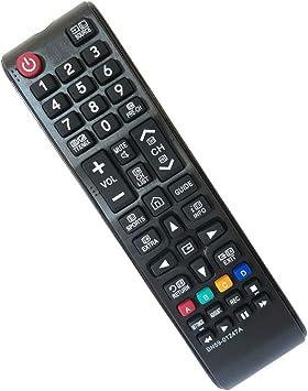 FYCJI Nuevo Reemplazo Mando Samsung BN59-01247A, para Mando TV Samsung- No se Requiere configuración Ajuste para Mando Universal Samsung TV: Amazon.es: Electrónica