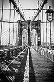 Brooklyn Bridge, New York City Photography, NY Print, Brooklyn Bridge Art, NY Black and White, Manhattan Print, NYC Art, Wall Art, Home, Sizes Available from 5x7 to 20x30.
