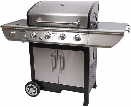 Barbecue gaz 4 bruleurs + réchaud | Maison et Styles