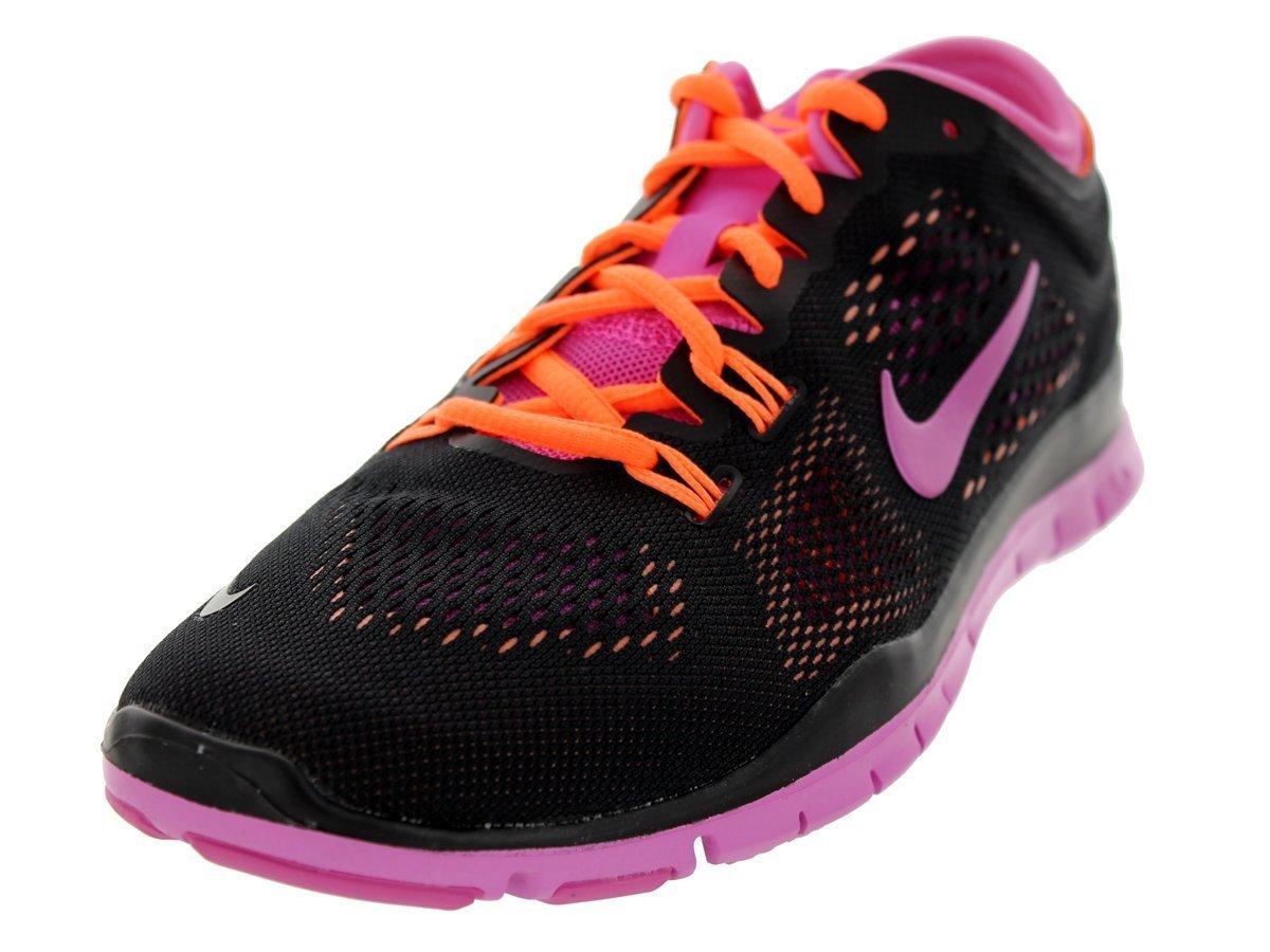 Nike Free 5.0 TR Fit 4 Damen Hallenschuhe  42.5 EU|Schwarz-Rosa-Orange