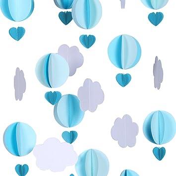Amazon.com: Cieovo - Guirnalda de globos de aire caliente ...