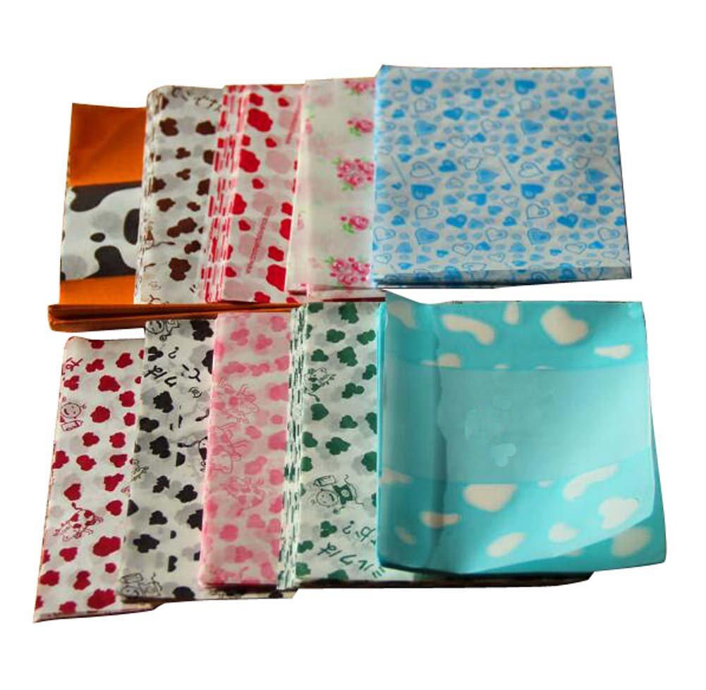 500 PCS Mixed Set Milk Candy Paper Twisting Wax Paper Wrappers 125CM-C