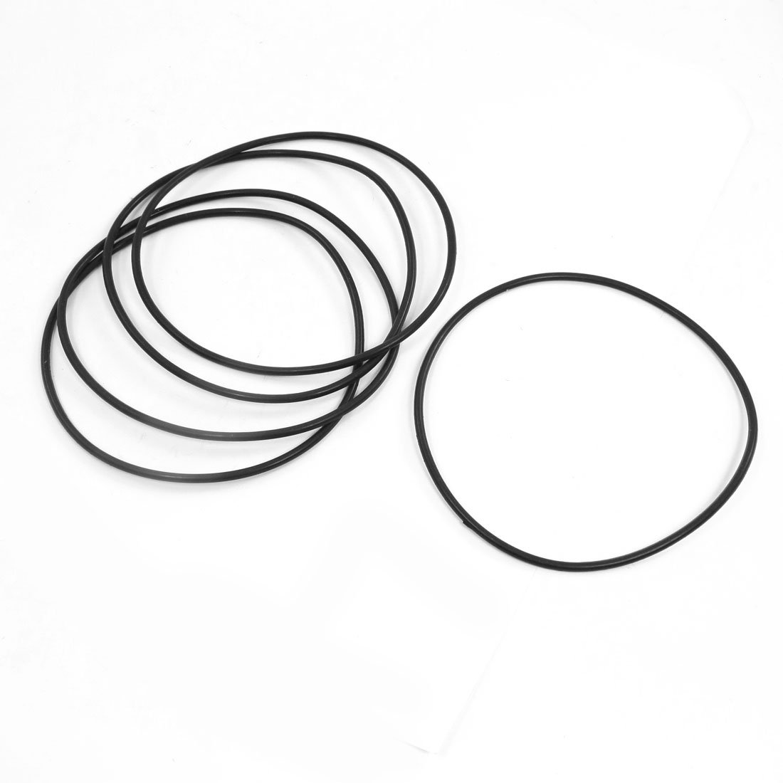Sourcingmap, a14022400ux0362, 115 mm x 3.1 mm guarnizioni filtro olio O-ring tenute 5 pezzo
