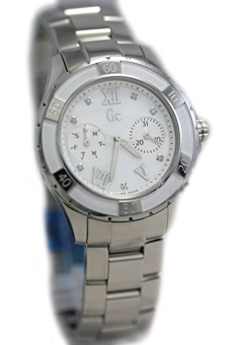 Reloj Guess Collection Gc Sport Class Xl-s X75102l1s Mujer Nácar: Amazon.es: Relojes