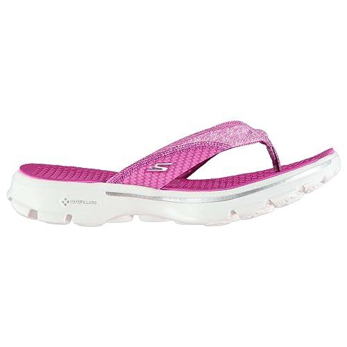 Skechers Damen Go Walk Flip Flops: : Schuhe