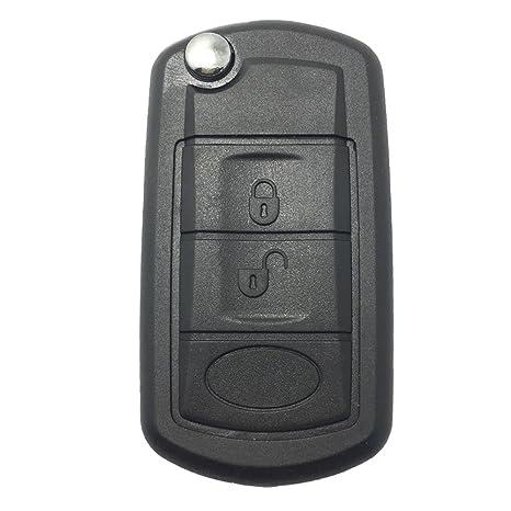 Amazon.com: ALIWEL - Carcasa para llave de Land Rover LR3 ...