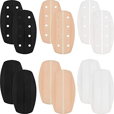 Womens Breathability Soft Silicone Bra Strap Cushions Holder Non-slip Shoulder Protectors Pads Ease Shoulder Discomfort