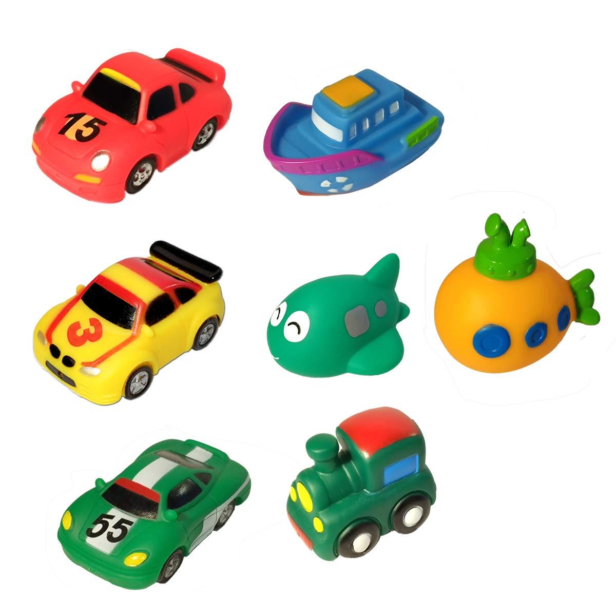YHYZ 10 Packs Bath Toy Set, BAP-Free Floating Bathtime Fun Bathtub Toy YHYZ - BT