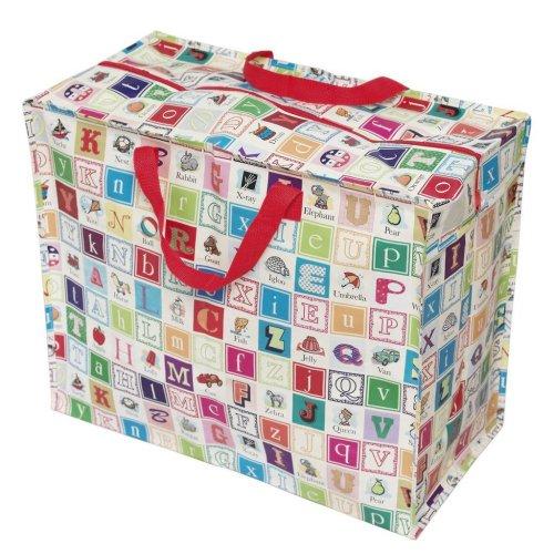 nique à cabas sac alphabet Grande trousse de bag sac jumbo rangement pique linge nHC7v