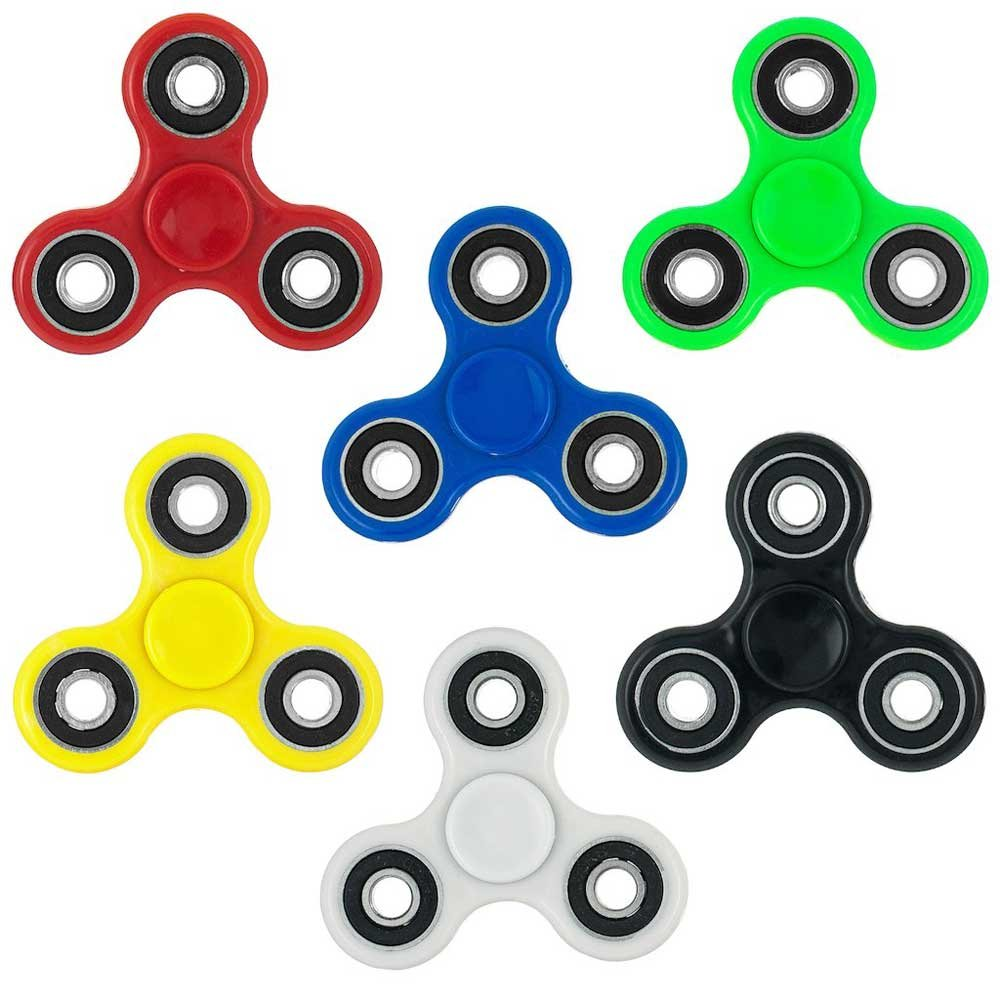 Fidget Spinner Anti-Stress Hand Toy Multi-Color/Material/Style Lot x100