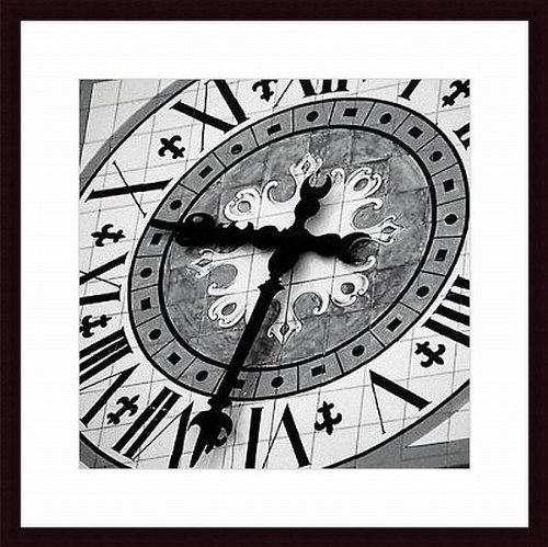 of Time III by Tony Koukos Wood Framed Art Print (Tony Koukos Pieces)