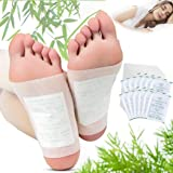 Fencia® 100 Foot Patches Natural Detox Foot Pads Patch Detoxify Toxins Pain Relief Foot Care Relax Health Care Remove Body To