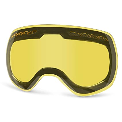 f95e79e98d3 Supertrip Ski Snowboard Goggles for Men   Women Over The Glasses Snow  Goggles Anti Fog 100% UV Protection Double Lens Interchangeable Lens for  Skiing(Only ...
