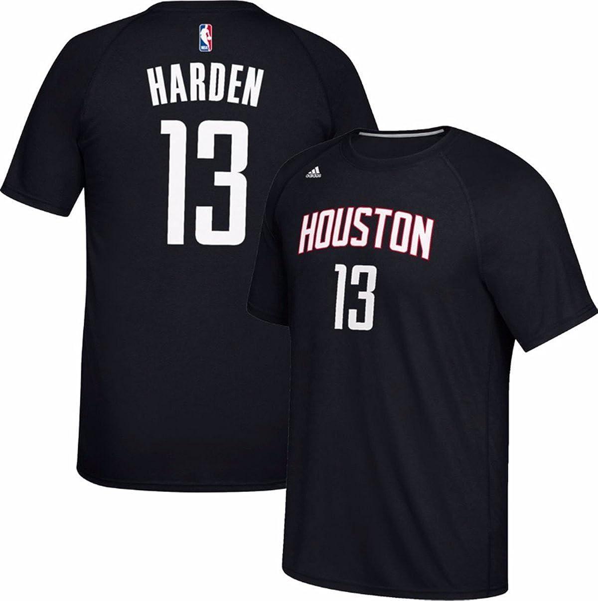 501a3d536 Amazon.com  James Harden Houston Rockets  13 Adidas Black Climalite Name   Number  Kids T-Shirt  Clothing
