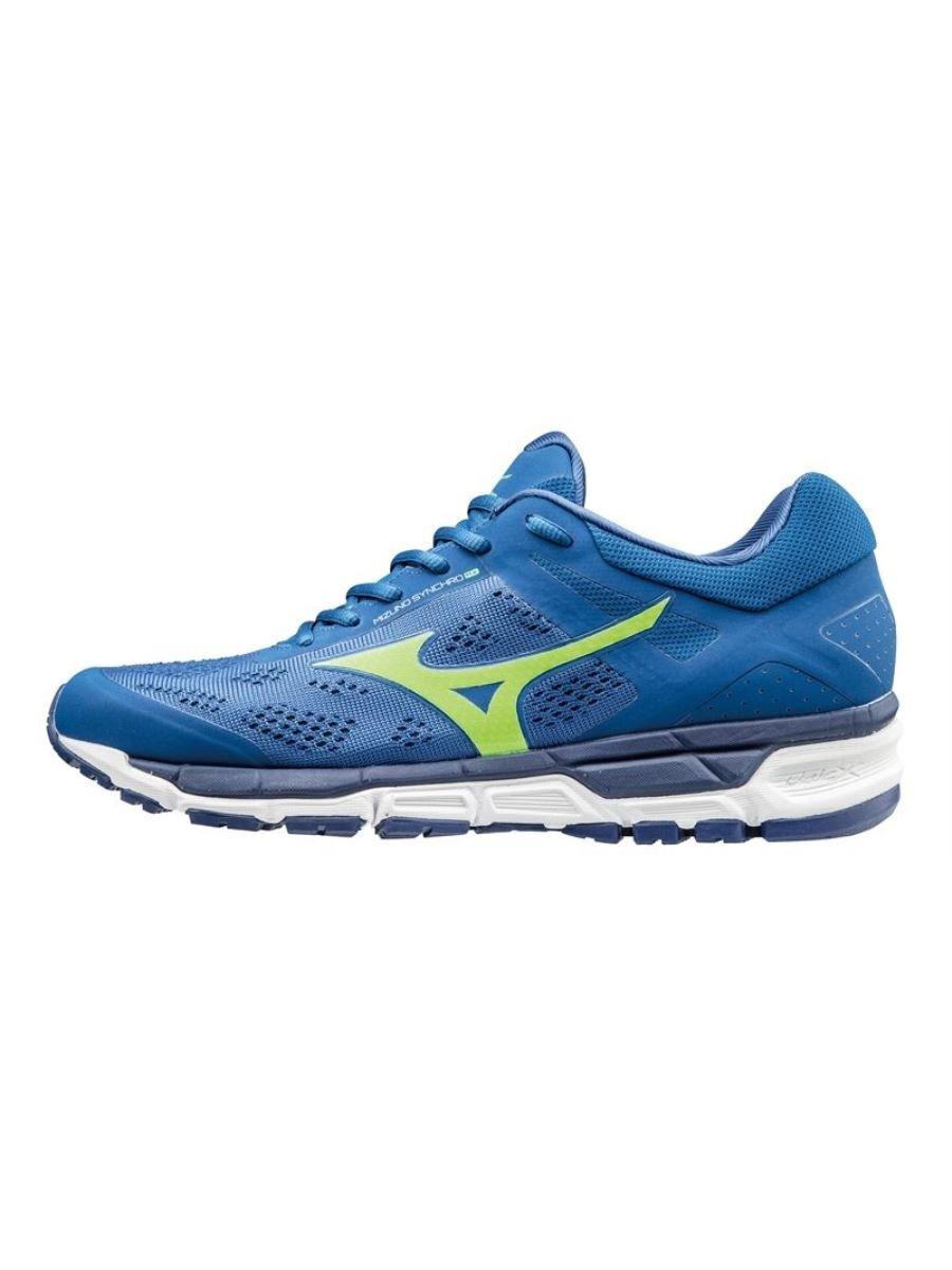 Mizuno Herren Synchro MX Joggingschuhe, Gelb  40|Blau