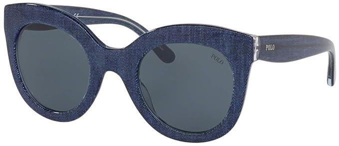 Ralph Lauren POLO 0PH4148 Gafas de sol, Denim Blue, 49 para Mujer ...