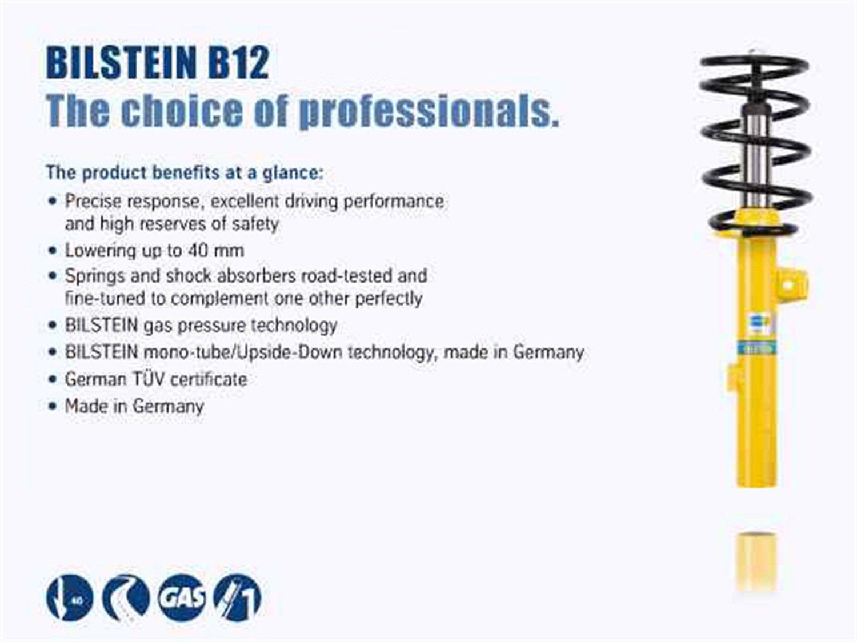 Bilstein 46-000033 Suspension Kit, Front, Rear