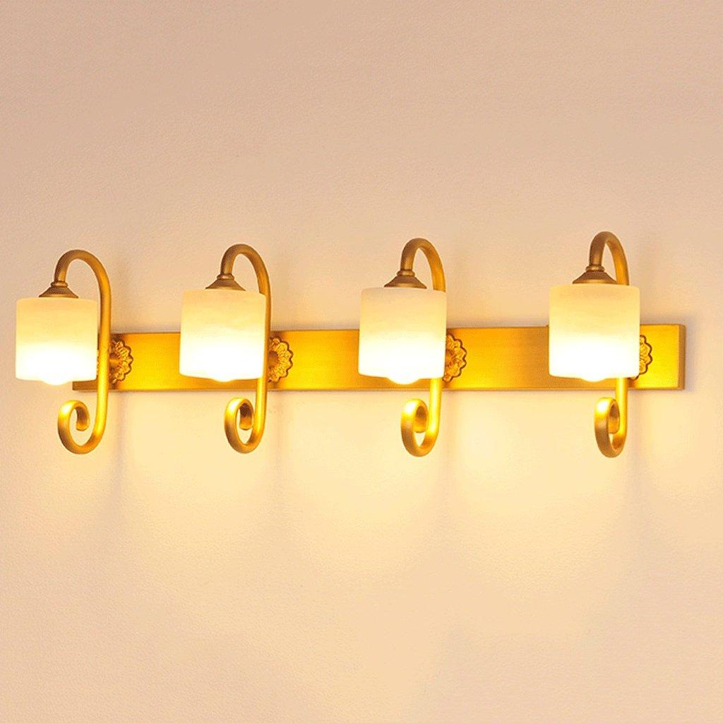 BMKY Wandlichter Kupfer LED-Spiegel-Licht Badezimmer-Spiegel-Kabinett-Licht Makeup -J136 ( größe : 67cm )