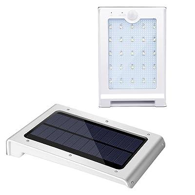 Lampe Solaire Lumin Tekco 2 Pack 25 Led Lampe Détecteur De
