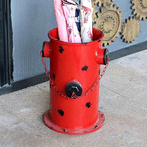 XIAOLIN レトロは古い傘バケツの消火栓の紙のバスケットを作ったクリエイティブバーの装飾の装飾傘のストレージラックのパーソナリティクリエイティブモデリング美しく、実用的な3つの色 (色 : イエロー いえろ゜) B07CV5GVW9 イエロー いえろ゜ イエロー いえろ゜