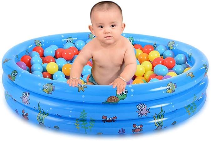RBH Piscina para niños, Piscina Inflable de Bolas Marinas, Juguetes para Piscinas para niños, Piscina para niños en el Interior y al Aire Libre de Verano Niños y niñas 33.4 * 9En: