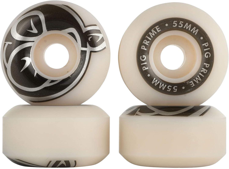 Pack of 4 Pig Wheels Prime Skateboard Wheels