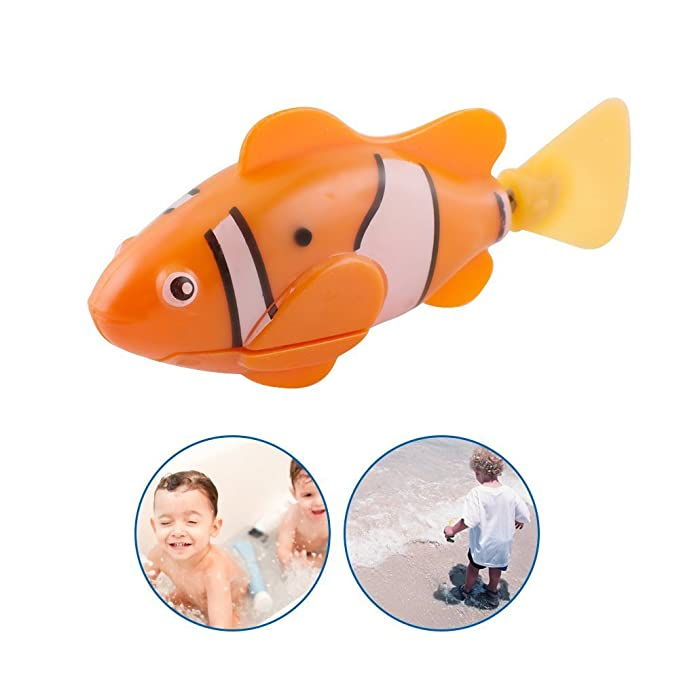 Amazon com: vinmax Swimming Robot Fish Activated in Water Magical