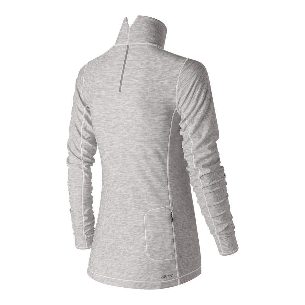 1259d8bbe1deb Amazon.com: New Balance Women's in Transit Half Zip Shirt: Sports & Outdoors