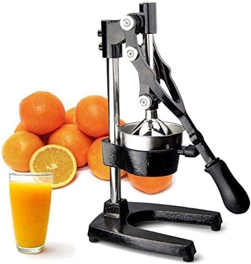 MUMUJJ Professional Manual Large Citrus Juicer, Commercial Grade Press Orange, Grapefruit and Lemon Press Juicing, Extracts Maximum Juice – Heavy Duty Cast Iron Base and Handle