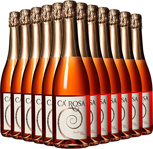 Ca' Momi Winery Ca ' Rosa California Summer Sparkling Wine Case Pack 12 x 750 mL