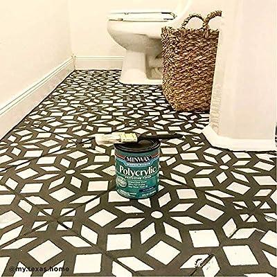 kerala tile stencil tile stencils for painting tile floor reusable tile stencils for linoleum and cement floors paint your old tile and save