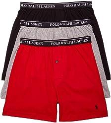 Polo Ralph Lauren. Classic Cotton Knit Boxer 3-Pack f3f9393d4fd