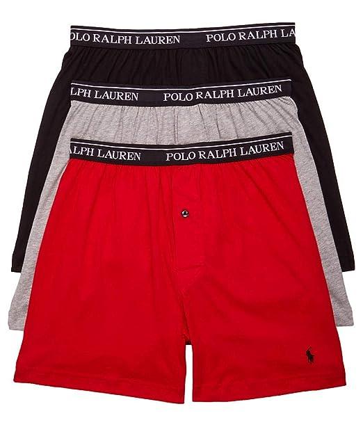 becaf6c149cb13 Polo Ralph Lauren Classic Fit Cotton Boxers 3-Pack: Amazon.ca ...