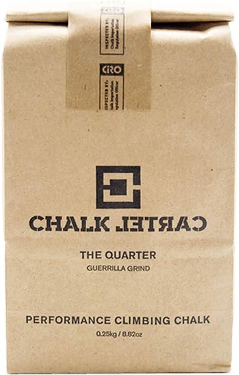 Amazon.com : CHALK CARTEL Loose Climbing Chalk - The Quarter ...
