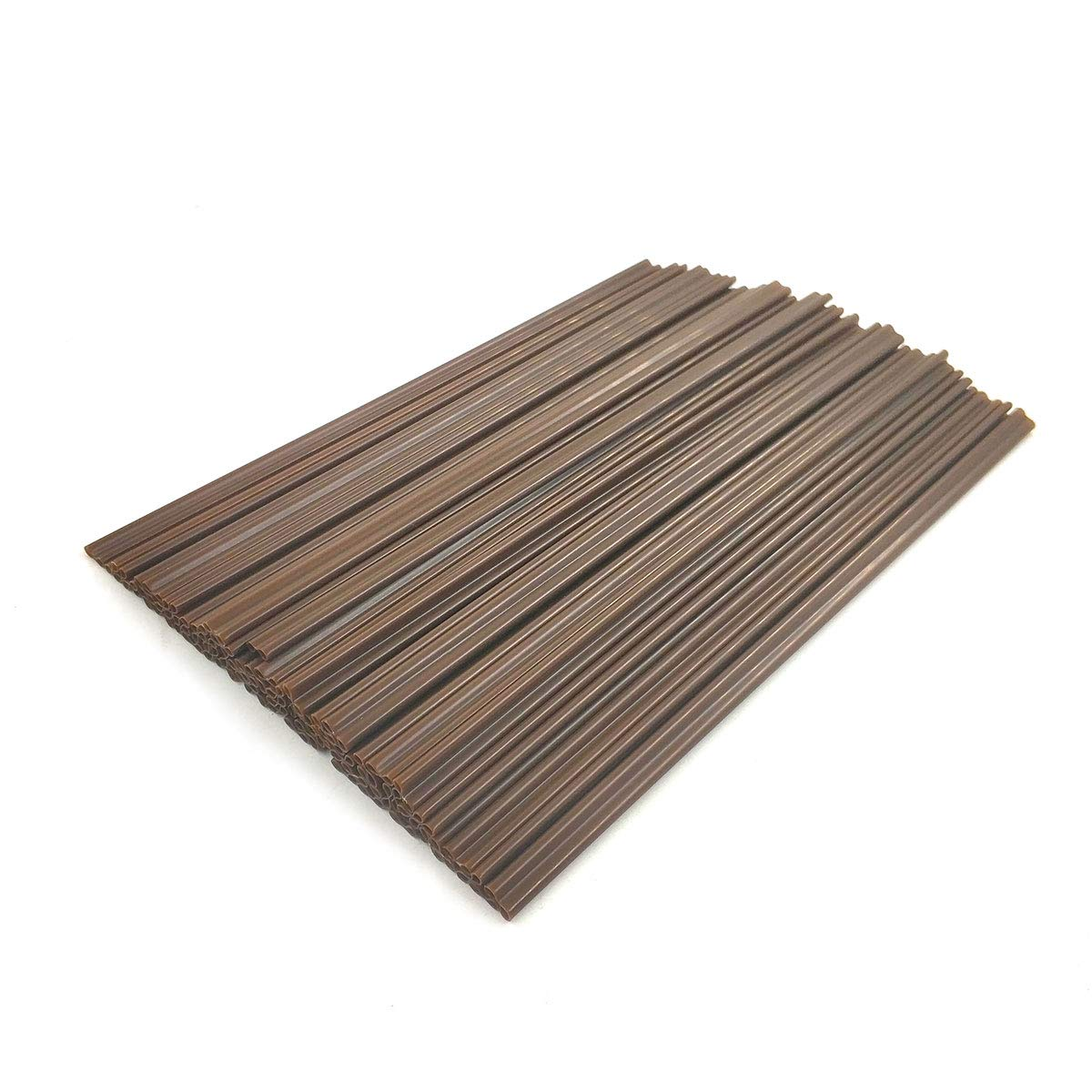 Daycount 500pcs/set Disposable Two-place Sucker Straws Stirrer Coffee Drinking Straws, Plastic Coffee Stiring Stick for Cafe, Restaurant, Home Use 7''