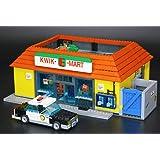 Modbrix 16004 Custom Bausteine Simpsons Kwik-e-Mart Supermarkt aus der Kultserie, 2232 Bausteine